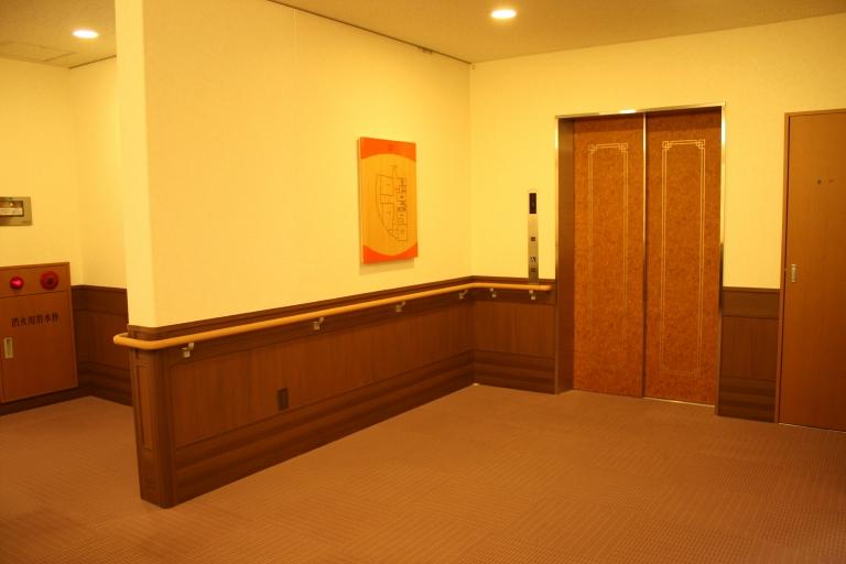 専用のエレベーター