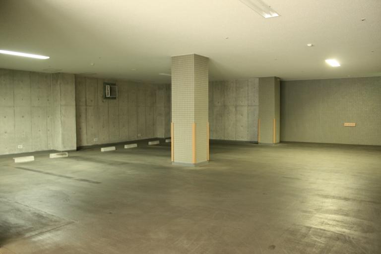 専用の家族駐車場