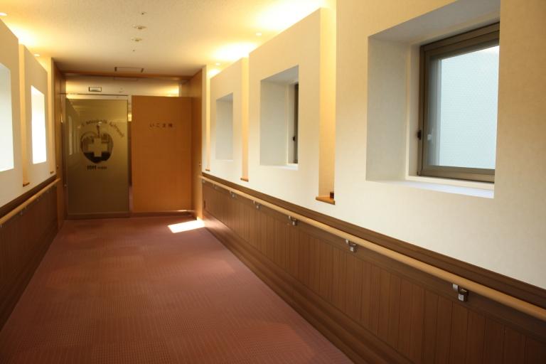 特別室への専用の渡り廊下