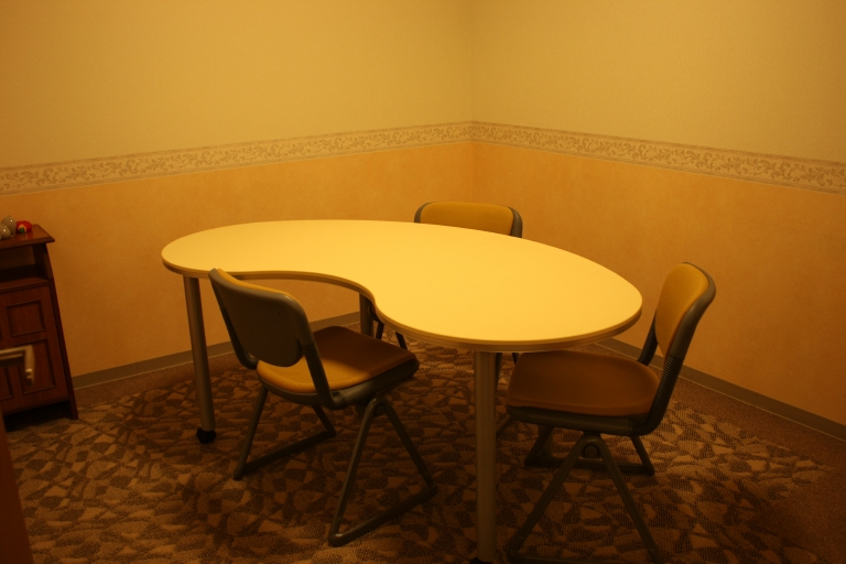 専用の相談室