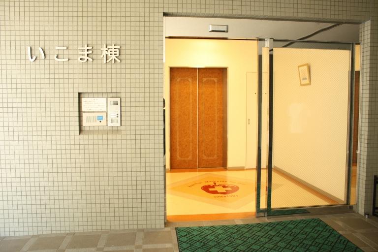 専用の玄関